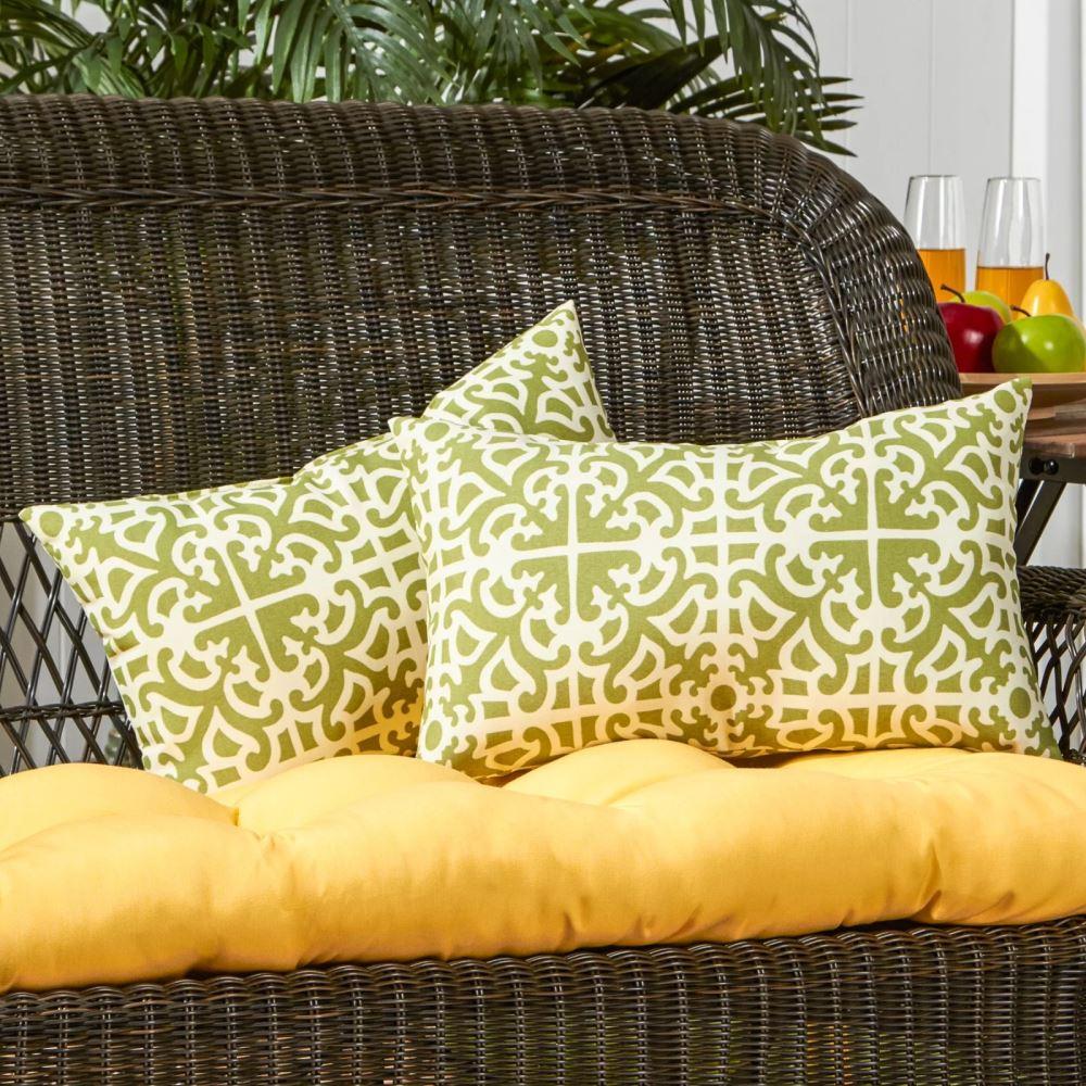 cyprus 100 polyester outdoor fabric lumbar pillow