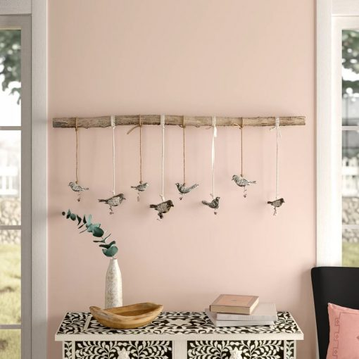 daisee bronze birds on a branch wall décor