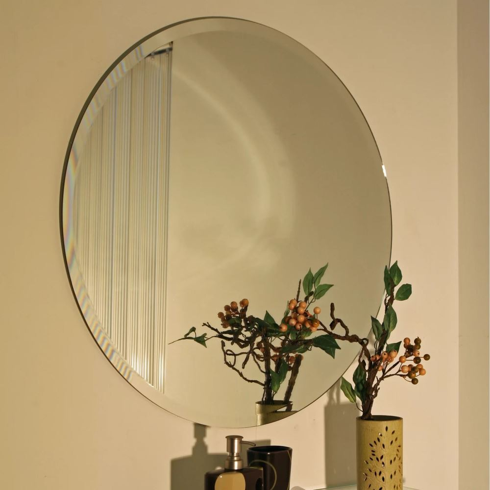 daphne versatile circular accent mirror