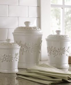 deja kitchen ceramic storage canister set of