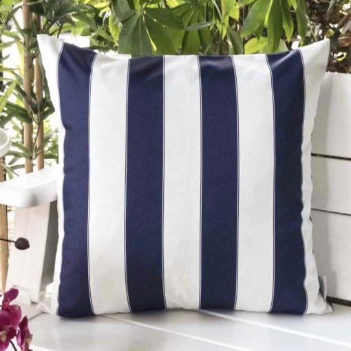 dessa striped outdoor 100 polyfill throw pillow