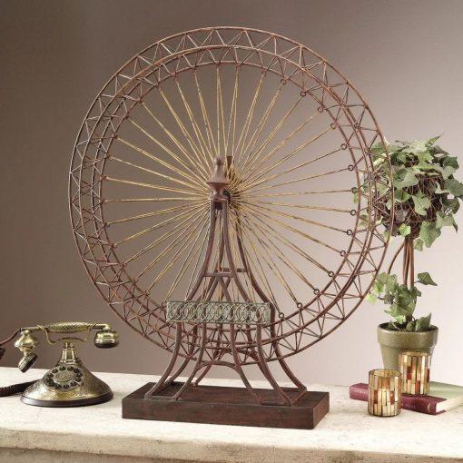 eberjey exposition ferris wheel decor sculpture