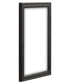 eleonora black wood grain picture frame