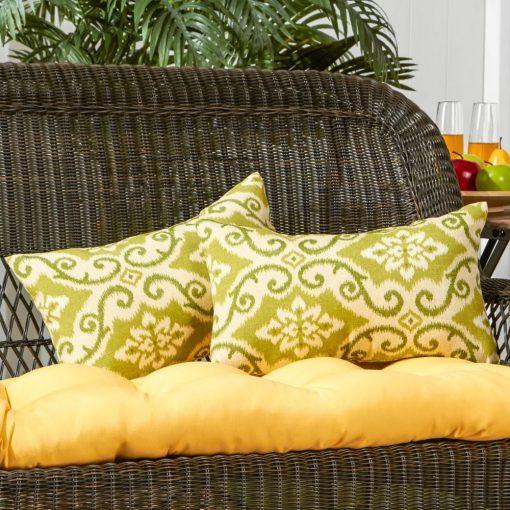 emmylou polyester polyester blend lumbar pillow