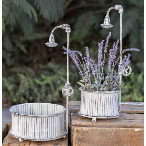 frontera rustic springtime showers planters