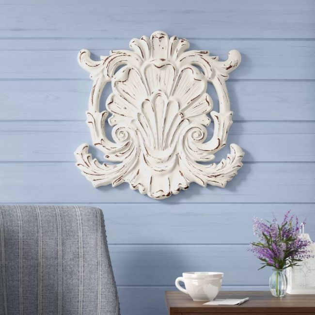 giana charming weathered shell wall décor