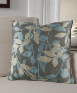 graceanne 100 polyester throw pillow with convenient zipper