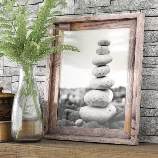imogen rustic barn door picture frame