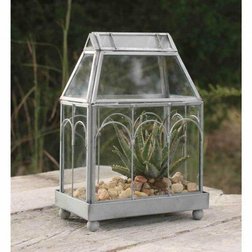 isabetta cute archway glass terrarium