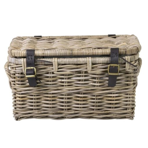 janou natural rattan lidded basket