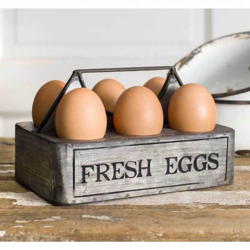 kacie cute fresh eggs caddy set of