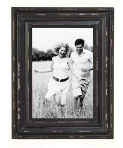 kamali distressed wood picture frame