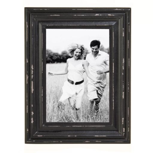 kamali distressed wood picture frame