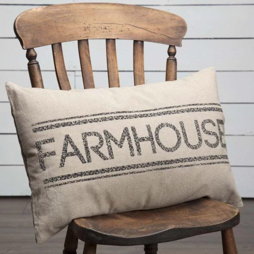 katrina indoor farmhouse 100 cotton pillow