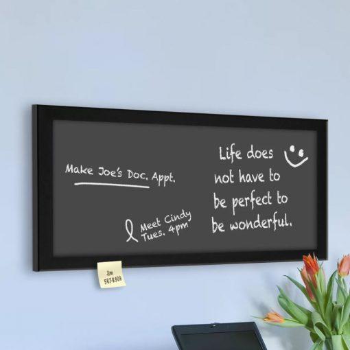 kellen magnetic wall mounted chalkboard