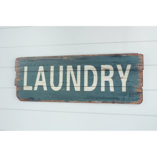 kinslee rustic laundry wood sign wall décor