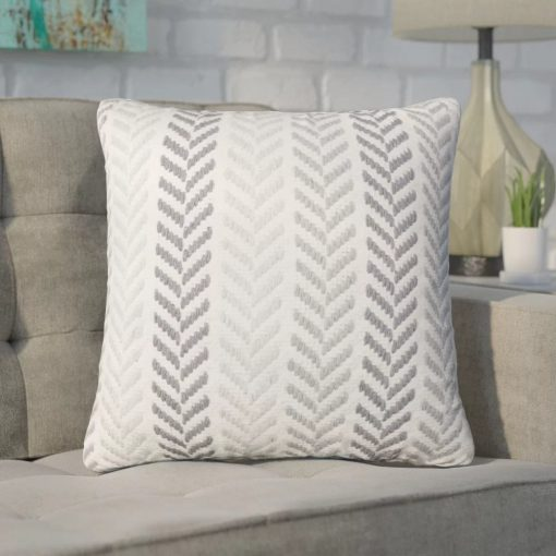 lala chevron 100 cotton throw pillow