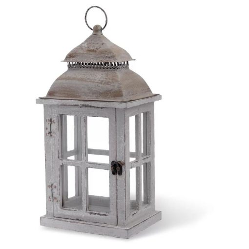 lambeth distressed light outdoor hanging wood lantern