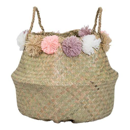 lida natural coastal seagrass basket