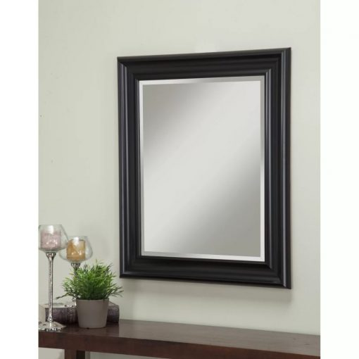 liz rectangle plastic frame accent mirror