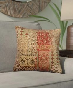 maru 50 polyester and 50 rayon throw pillow