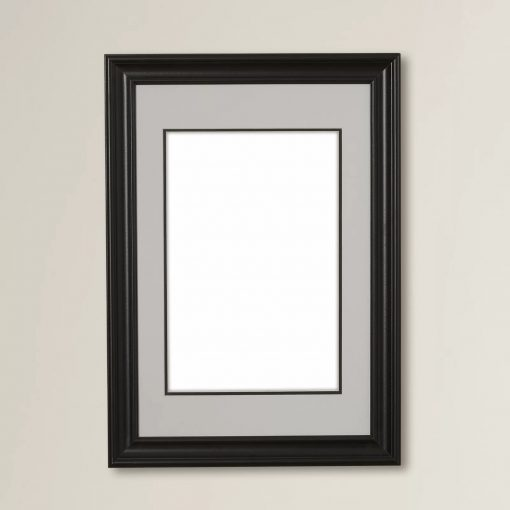 matted wall portrait picture frame