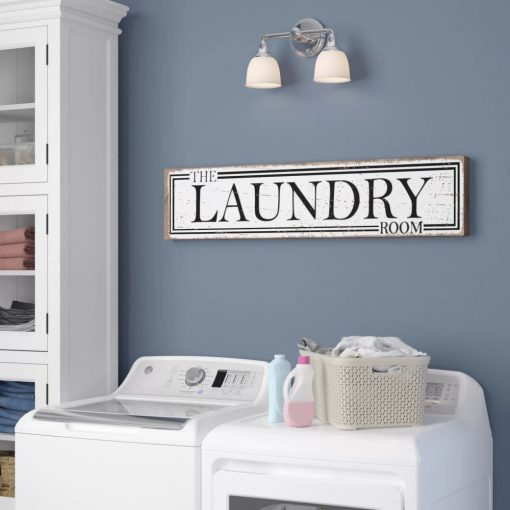 maya distressed the laundry room sign wall décor
