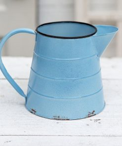 melange light blue emmas pitcher
