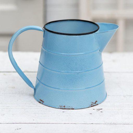 melange light blue emmas pitcher