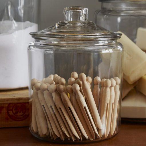 naomi kitchen canister glass jar