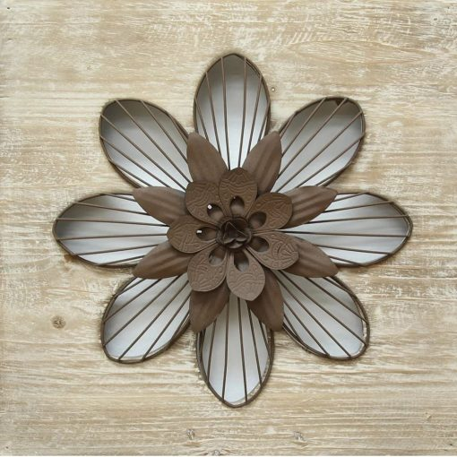 orsay distressed flower wall décor