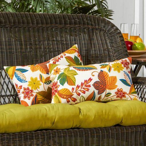 phaedra rectangular indoor or outdoor lumbar pillow