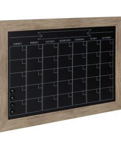 pilcro wood frame magnetic wall mounted chalkboard
