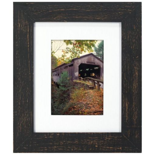 rebekah black wood picture frame