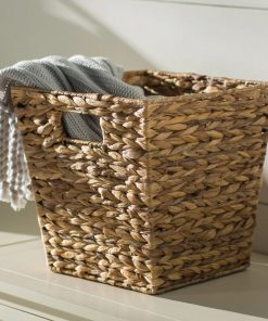 ronda widemouth rattan basket with built in handles