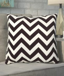 rowan chevron 100 polyester indoor throw pillow