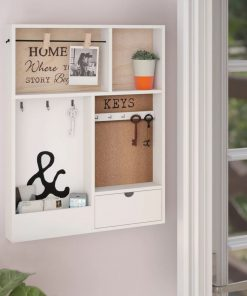 ruthie entryway holder mail storage with key hooks