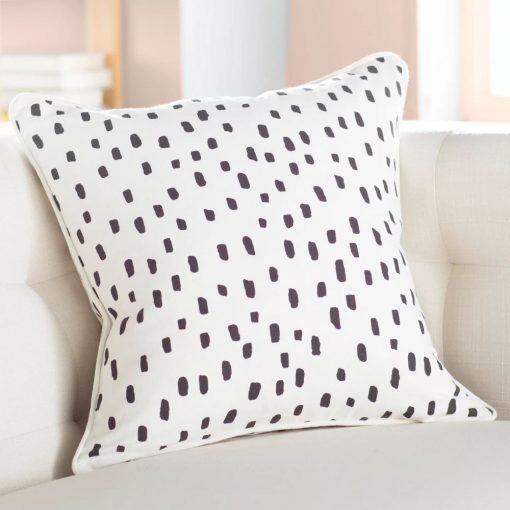 sanctuary dalmatian dot cotton throw pillow cover