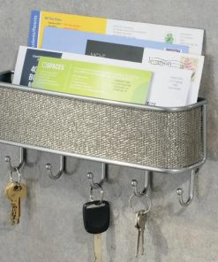 sundry reinforced button holes mail organized with key hooks