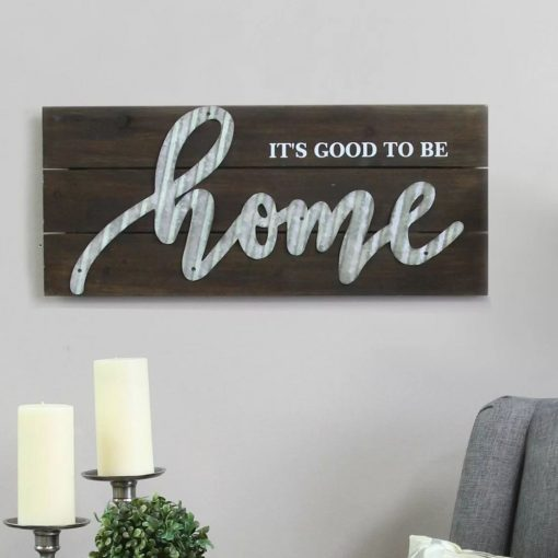 susmita handcrafted its good to be home wall décor