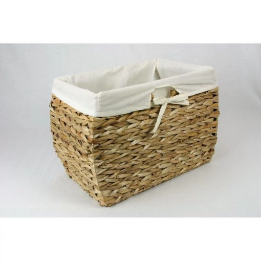 taylor seagrass basket storage wicker basket with liners