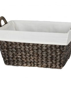 theresa espresso tone storage basket