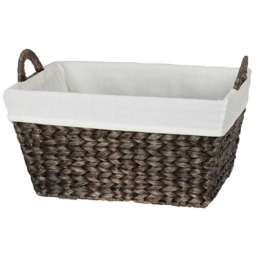 theresa espresso tone storage basket