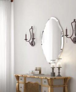 tildie vertical oval accent mirror