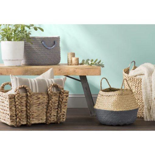 trista traditional lightweight design wicker basket