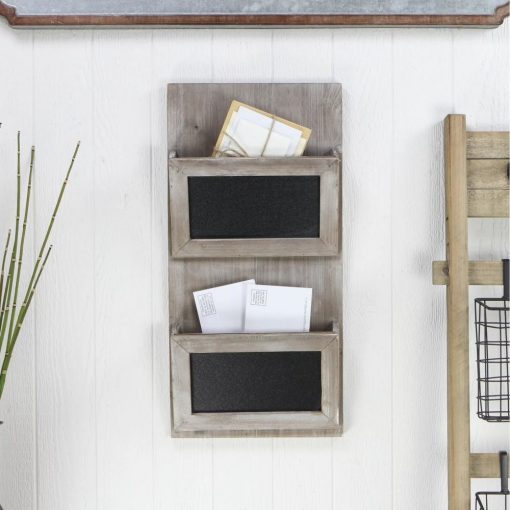 tulum rustic wall hanging mail storage