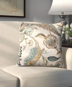 vivaldi beige 100 cotton throw pillow