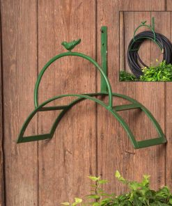 winslow arch metal garden hose holder