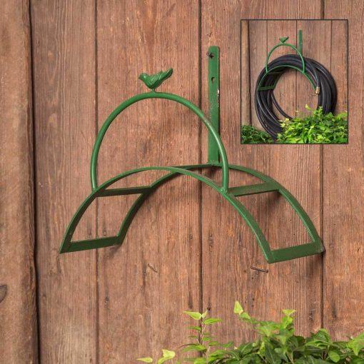 winslow arch metal garden hose holder