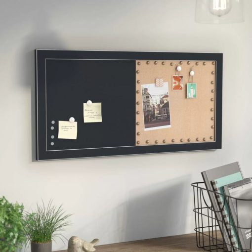 yumi plastic frame magnetic wall mounted chalkboard